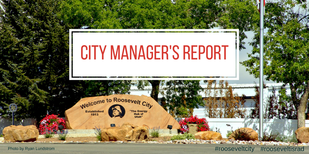 City Managers Report