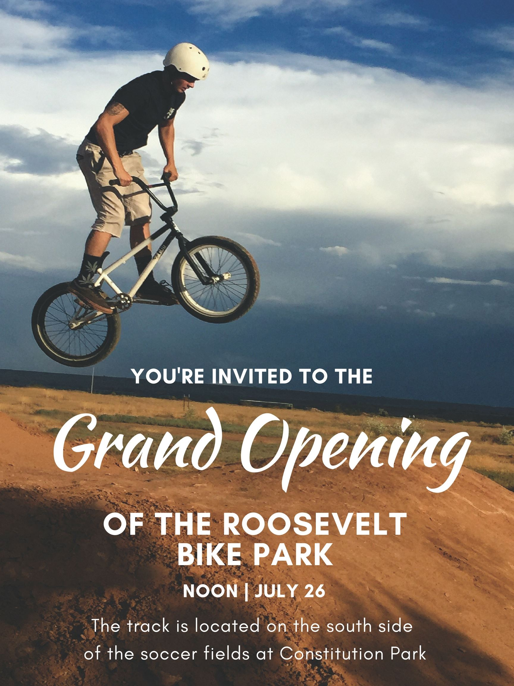 Pump Track Grand Opening 1