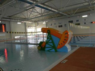 Indoor Swimming Pool with Swimming Lanes